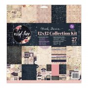 Paper Pad 12x12 - Prima Marketing - Wild & Free Foiled Collection