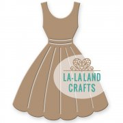 "La-La Land Die - Dress 2.75""X2.33"""