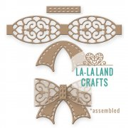 "La-La Land Die - Filigree Bow - 2.75""X2.75"""