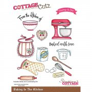 Stamp And Die Set - CottageCutz - Baking In The Kitchen