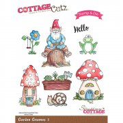 Stamp And Die Set - CottageCutz - Garden Gnomes 1