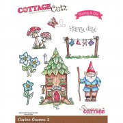 Stamp And Die Set - CottageCutz - Garden Gnomes 2