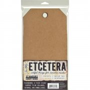 "Tim Holtz Etcetera Medium Tag 6.5""X12"" - 2 st"