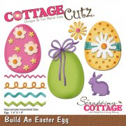 CottageCutz Elites Die - Build An Easter Egg