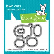 Lawn Fawn Cuts Custom Craft Die - Bun In The Oven