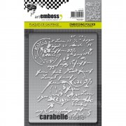 Embossing Folder - Carabelle Studio - Courrier