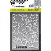 Embossing Folder - Carabelle Studio - Circles & Dots