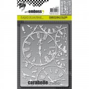Embossing Folder - Carabelle Studio - Horloges