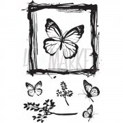 Clearstamps 49 and Market - Gerry's Butterflies