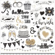 Stickers Photo Play - We Do - Wedding Elements