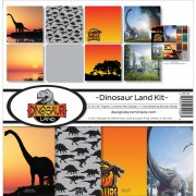 Paper Kit 12x12 - Reminisce - Dinosaur Land