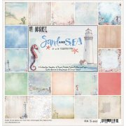 "Paper Pack - Sand & Sea Collection 12""X12"" - 9 ark"