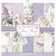 "Paper Pad 12""x12"" - Stamperia - Lilac Flowers"