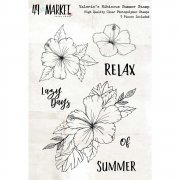 Clearstamps 49 and Market - Valerie´s Hibiscus Summer