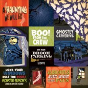 Papper Carta Bella - Haunted House - Multi Journaling Cards