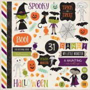 "Stickers 12""x12"" - Echo Park - Halloween Town"