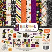 "Paper Pad 12""x12"" - Echo Park - Halloween Town"