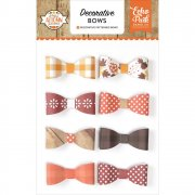 Echo Park - A Perfect Autumn - Decorative Bows - 8 st