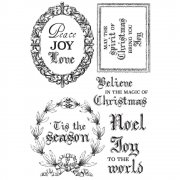 Letters To Santa - Clearstamps 6 st - Kaisercraft