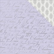 Papper Kaisercraft - Christmas Jewel - Holiday Wishes Foil