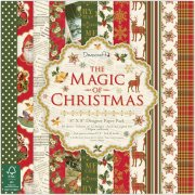 "Paper Pad 8""x8"" - The Magic Of Christmas - 48 ark"