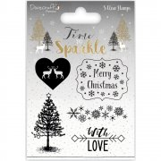Clearstamps Dovecraft - Time To Sparkle - Merry Christmas