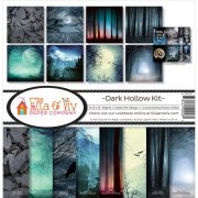 Paper Kit 12x12 - Ella & Viv - Dark Hollow