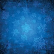 Papper Ella & Viv - Blue Christmas - Cerulean Snow