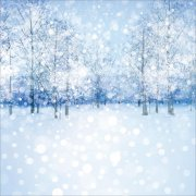 Papper Ella & Viv - Blue Christmas - White Christmas