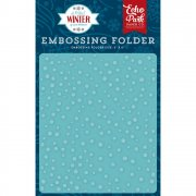 A Perfect Winter - Embossing Folder Snow Day - Echo Park