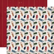 Papper Carta Bella - Cabin Fever - Sliding Sleds