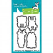 Lawn Fawn Cuts Custom Craft Die - For You, Deer