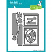 Lawn Cuts Custom Craft Dies - Shadow Box Card