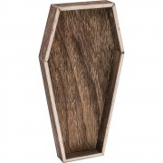 Idea-Ology Wooden Vignette Coffin Tray - Tim Holtz