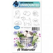 Art Impression watercolor stamps - Dogs set