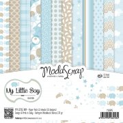 "Paper Pad 6""x6"" - Modascrap - My little Boy"