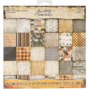 "Paper Stash Idea-Ology 8""x8"" Tim Holtz - Halloween"