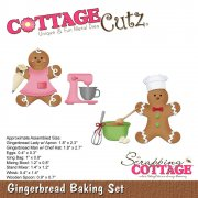 CottageCutz Elites Die - Gingerbread Baking Set