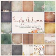 Paper Pad 12x12 - Rusty Autumn - 49 and Market
