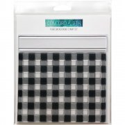 "Clear Stamps 6""X6"" - Concord & 9th - Plaid Background"