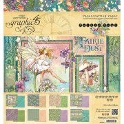 Paper Pad 8x8 Graphic45 - Fairie Dust - 8 Designs