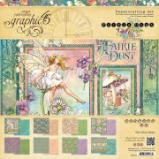 Paper Pad 12x12 Graphic45 - Fairie Dust - 8 Designs