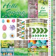 Stickers Reminisce Hello spring