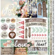 Stickers Reminisce Modern Wedding