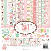"Paper Pack 12""x12"" - Echo Park - Sweet Baby Girl"