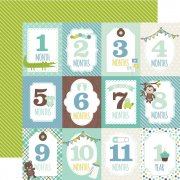 Papper Echo Park - Sweet Baby Boy - Month Cards