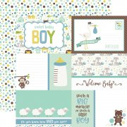 Papper Echo Park - Sweet Baby Boy - Journaling Cards