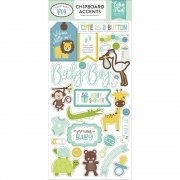 Sweet Baby Boy - Chipboard Accents - Echo Park