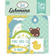 Sweet Baby Boy - Die Cuts Ephemera - Echo Park