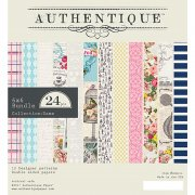 Paper Pad 6x6 - Authentique - Dame